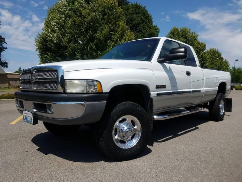2001 Dodge Ram Pickup 2500 for sale at J.K. Thomas Motor Cars in Spokane Valley WA