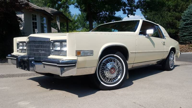 1984 Cadillac Eldorado for sale at J.K. Thomas Motor Cars in Spokane Valley WA