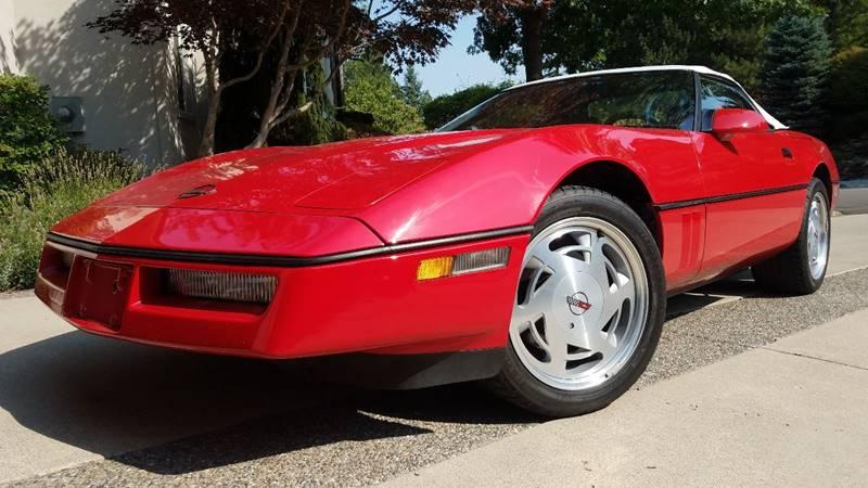 1989 Chevrolet Corvette for sale at J.K. Thomas Motor Cars in Spokane Valley WA