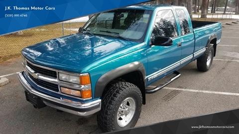 Chevrolet For Sale In Spokane Valley Wa J K Thomas Motor