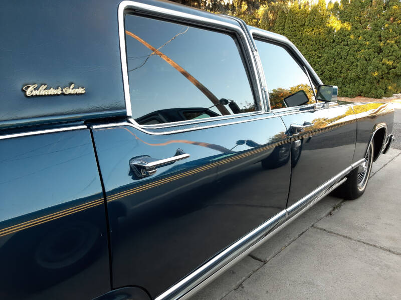 1979 Lincoln Continental for sale at J.K. Thomas Motor Cars in Spokane Valley WA