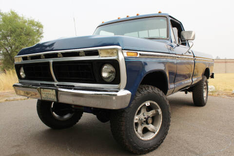 1977 Ford F-150 for sale at J.K. Thomas Motor Cars in Spokane Valley WA