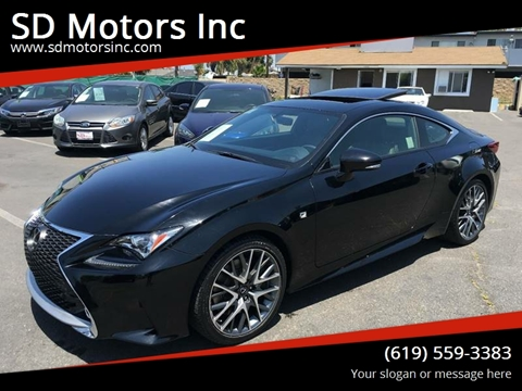 Lexus Rc 350 For Sale >> 2015 Lexus Rc 350 For Sale In La Mesa Ca