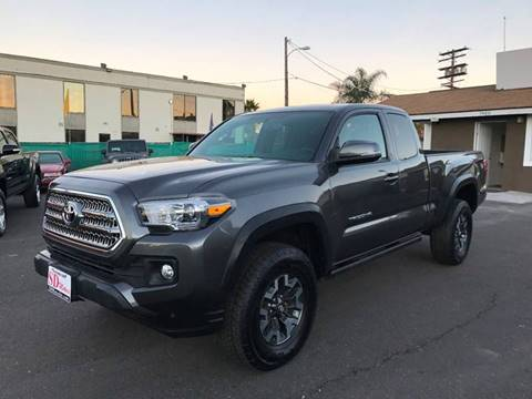 2016 Toyota Tacoma for sale at SD Motors Inc in La Mesa CA