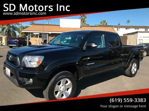 2015 Toyota Tacoma for sale at SD Motors Inc in La Mesa CA