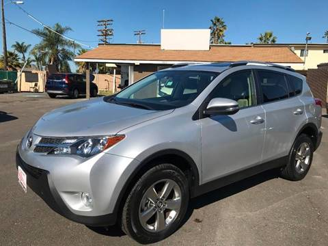 2015 Toyota RAV4 for sale at SD Motors Inc in La Mesa CA