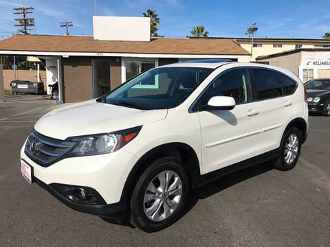 2014 Honda CR-V for sale at SD Motors Inc in La Mesa CA