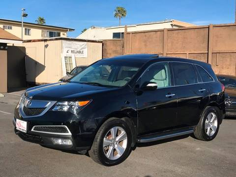 2013 Acura MDX for sale at SD Motors Inc in La Mesa CA