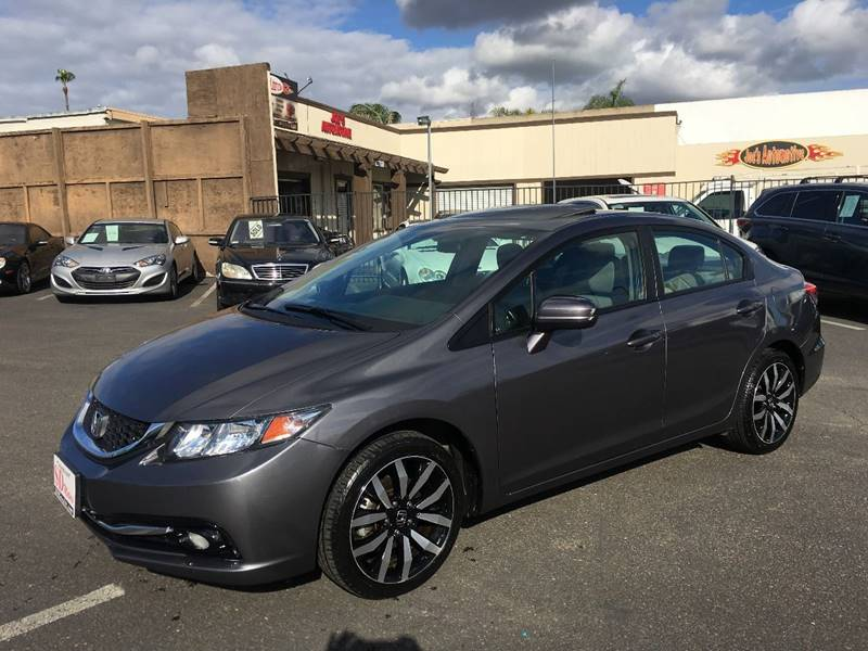 2015 Honda Civic for sale at SD Motors Inc in La Mesa CA