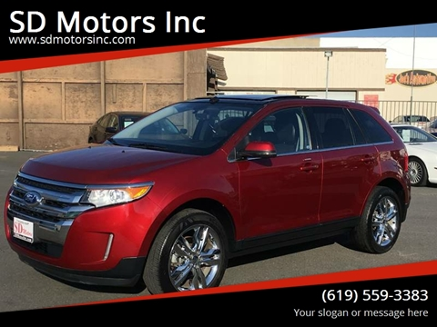 2013 Ford Edge for sale at SD Motors Inc in La Mesa CA