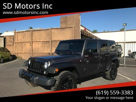 2018 Jeep Wrangler Unlimited for sale in La Mesa, CA