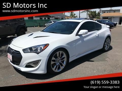 2015 Hyundai Genesis Coupe For Sale In La Mesa Ca