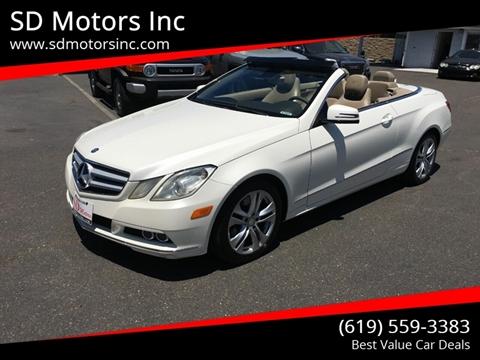 2011 Mercedes-Benz E-Class for sale in La Mesa, CA