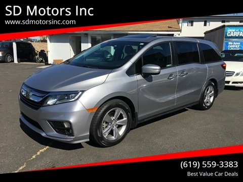 2018 Honda Odyssey for sale in La Mesa, CA