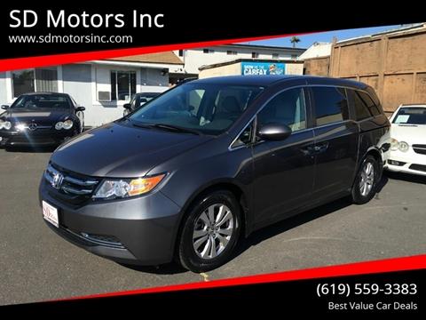 2016 Honda Odyssey for sale in La Mesa, CA