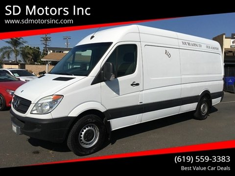 2012 Mercedes-Benz Sprinter Cargo for sale in La Mesa, CA
