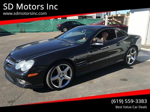 2007 Mercedes-Benz SL-Class for sale at SD Motors Inc in La Mesa CA