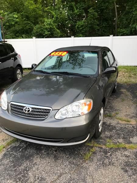 2005 Toyota Corolla For Sale At FIVE STAR AUTOMOTIVE In Southbridge MA