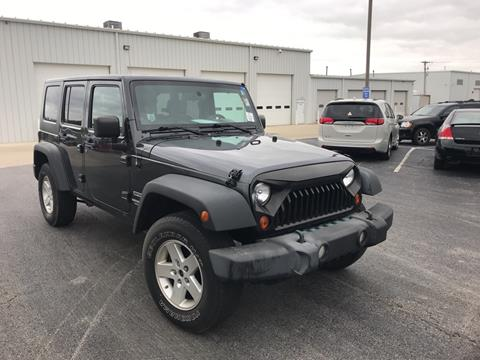 2010 Jeep Wrangler Unlimited for sale in Saint Marys, OH
