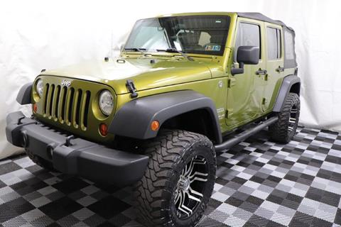 2010 Jeep Wrangler Unlimited for sale in Akron, OH