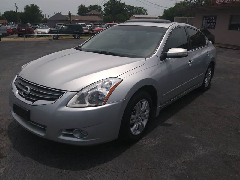 2012 Nissan Altima For Sale At Gatoru0027s Auto Sales In Garland TX