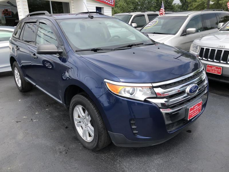 Ford Edge For Sale At Elyria Budget Auto Sales In Elyria Oh