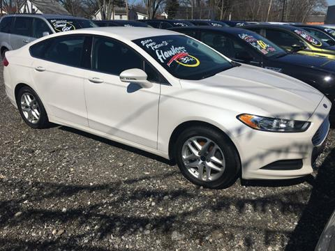 bd92d21375 2014 Ford Fusion SE for sale at Elyria Budget Auto Sales in Elyria OH