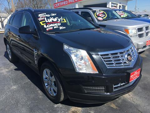 5d9a2abcd1 2014 Cadillac SRX for sale at Elyria Budget Auto Sales in Elyria OH