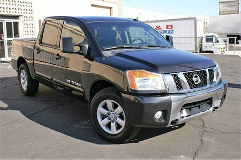 2012 Nissan Titan for sale at EXPRESS AUTO GROUP in Phoenix AZ
