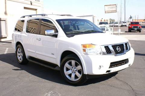 2008 Nissan Armada for sale at EXPRESS AUTO GROUP in Phoenix AZ