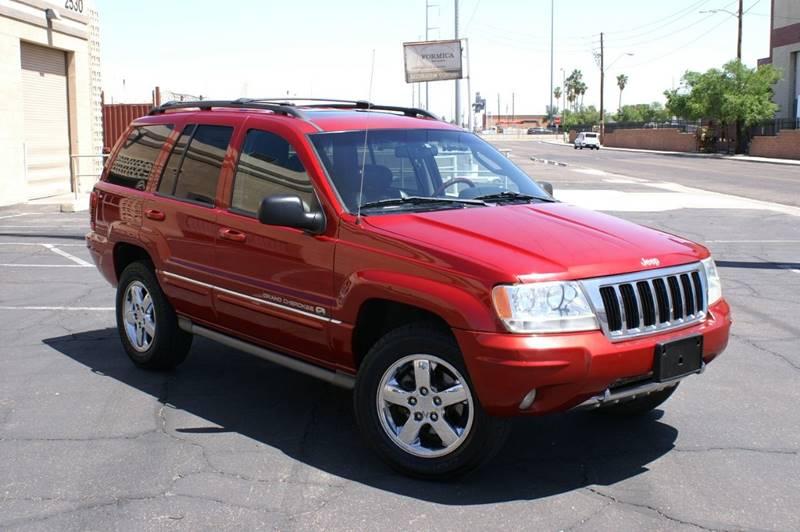2004 Jeep Grand Cherokee Overland 4WD 4dr SUV   Phoenix AZ