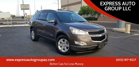 2009 Chevrolet Traverse for sale at EXPRESS AUTO GROUP in Phoenix AZ