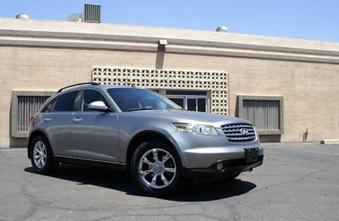 2004 Infiniti FX35 for sale at EXPRESS AUTO GROUP in Phoenix AZ