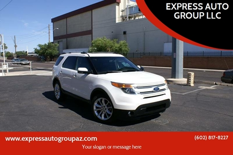2012 Ford Explorer for sale at EXPRESS AUTO GROUP in Phoenix AZ