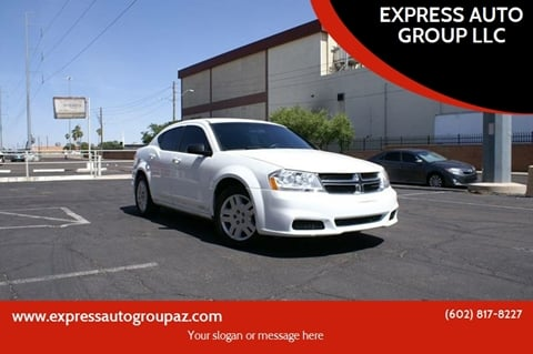 2011 Dodge Avenger for sale at EXPRESS AUTO GROUP in Phoenix AZ