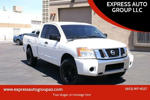 2009 Nissan Titan for sale at EXPRESS AUTO GROUP in Phoenix AZ
