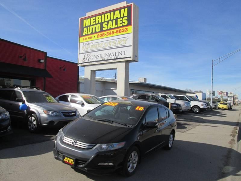 garden city honda. 2010 Honda Insight For Sale At Meridian Auto Sales In Garden City ID 1