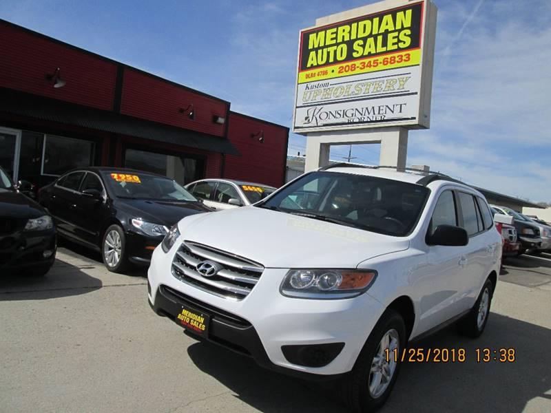 2012 Hyundai Santa Fe GLS In Garden City ID - Meridian Auto Sales