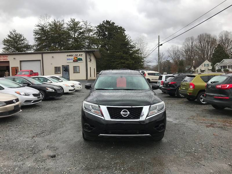 2014 Nissan Pathfinder S In Ramseur NC - Cars To Go Auto Sales & Svc Inc