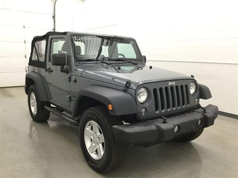 2014 Jeep Wrangler for sale in Waterbury, CT