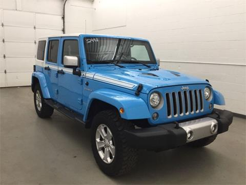 2017 Jeep Wrangler Unlimited for sale in Waterbury, CT