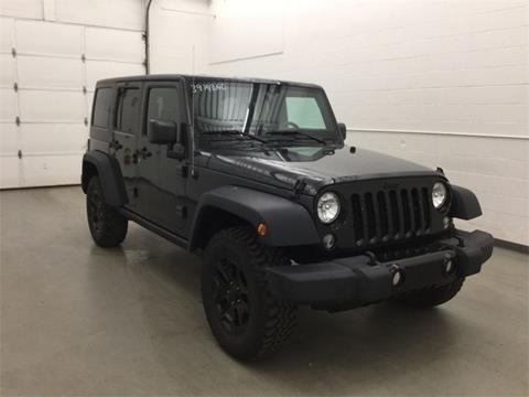 2016 Jeep Wrangler Unlimited for sale in Waterbury, CT
