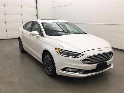 2017 Ford Fusion for sale in Waterbury, CT