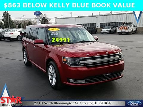 2014 ford flex for sale in illinois. Black Bedroom Furniture Sets. Home Design Ideas