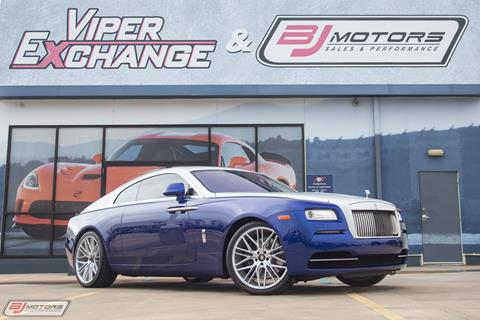 2016 Rolls-Royce Wraith for sale in Tomball, TX