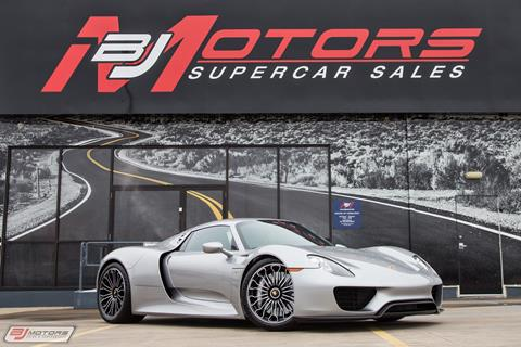 2015 Porsche 918 Spyder for sale in Tomball, TX