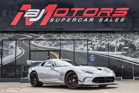 2016 Dodge Viper for sale in Tomball, TX