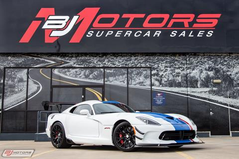 2017 Dodge Viper for sale in Tomball, TX