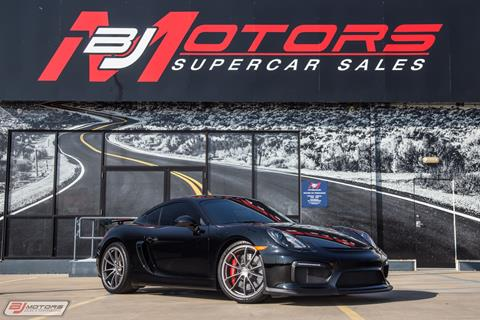 2016 Porsche Cayman for sale in Tomball, TX
