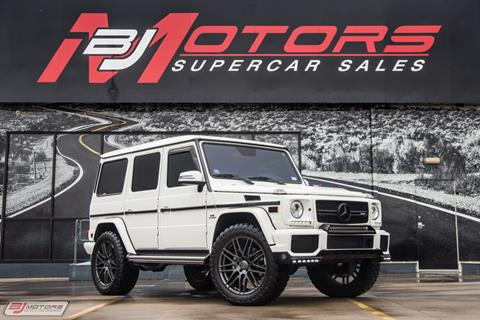 2013 Mercedes-Benz G-Class for sale in Tomball, TX